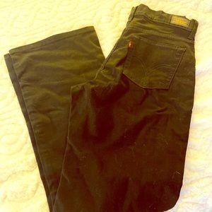Black denim Levi's Jeans